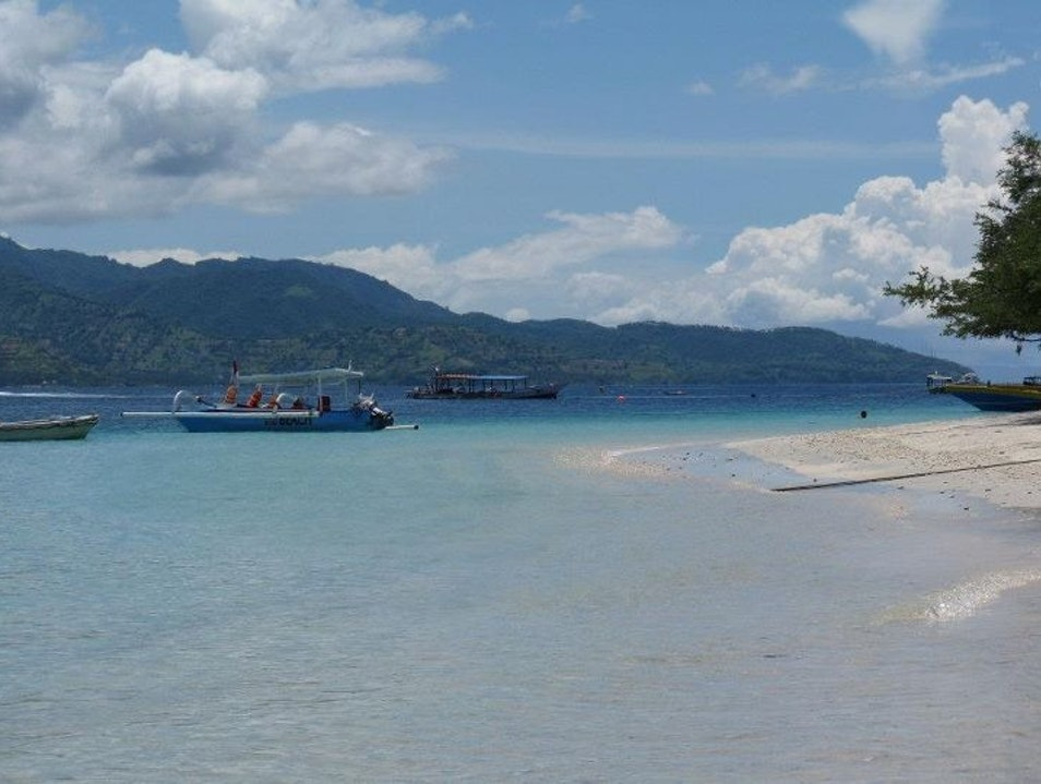 Dropping by the Gili Islands...