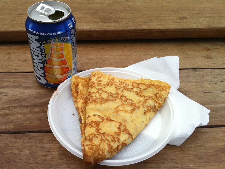 Orangina and Nutella - Marriage made in my belly Paris  France