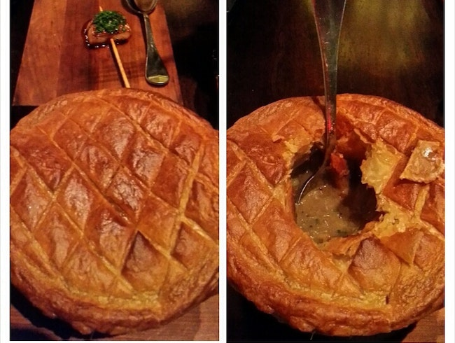 A Luxurious Chicken Pot Pie
