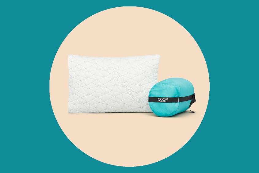 For when you want a packable version of your regular pillow.