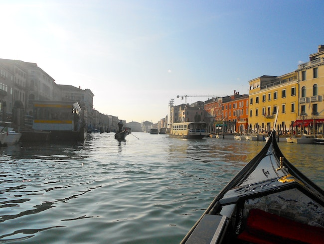 Grand Canal in a Gondola