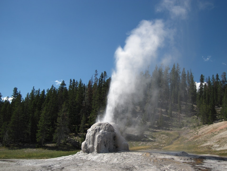 Lone Star Geyser, Yellowstone National Park, WY Yellowstone National Park Wyoming United States
