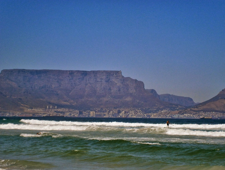 The View from Bloubergstrand Cape Town  South Africa