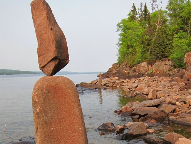 Balancing Rocks at Artists' Point
