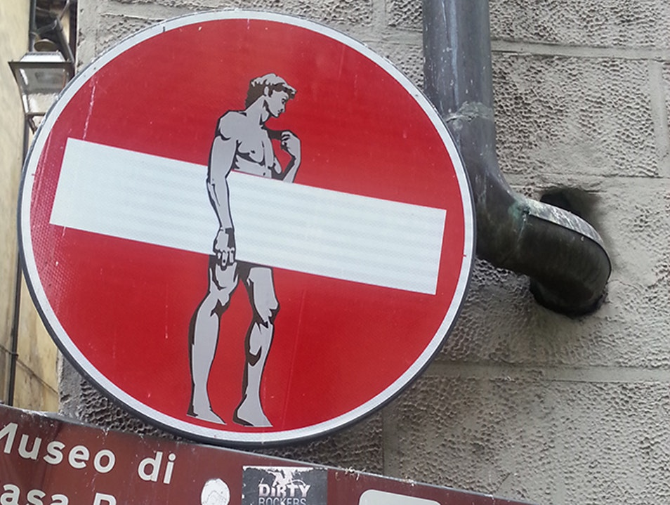 Clet Abraham Studio Florence  Italy
