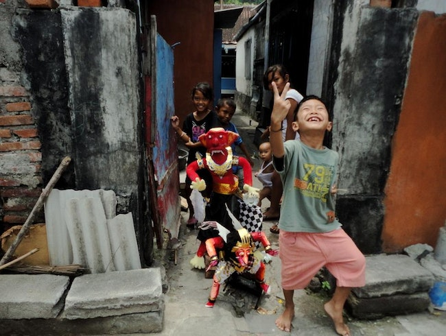 Celebrating with the Monsters of Bali