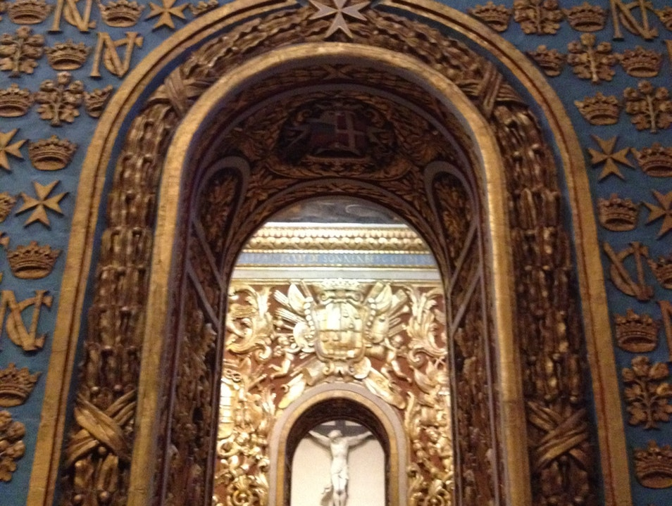 Be overwhelmed by the St John's Co Cathedral Il Belt Valletta  Malta