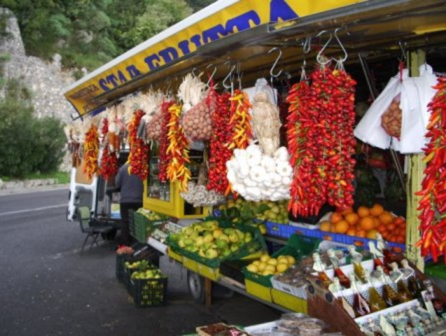 Roadside Vendor, Amalfi Coast