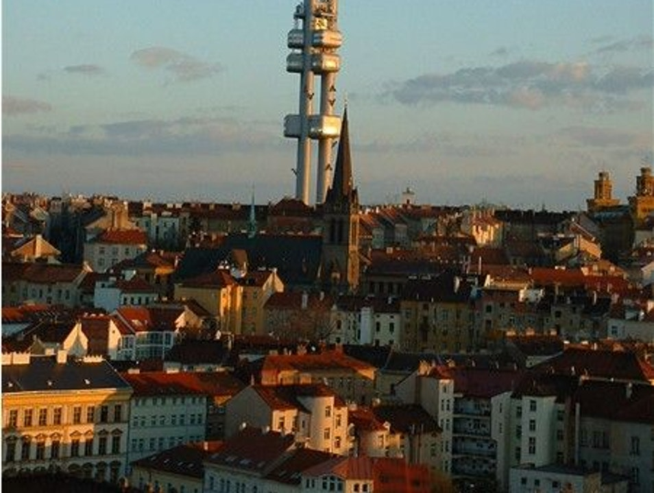 Prague's Most Modern Spire Prague  Czechia