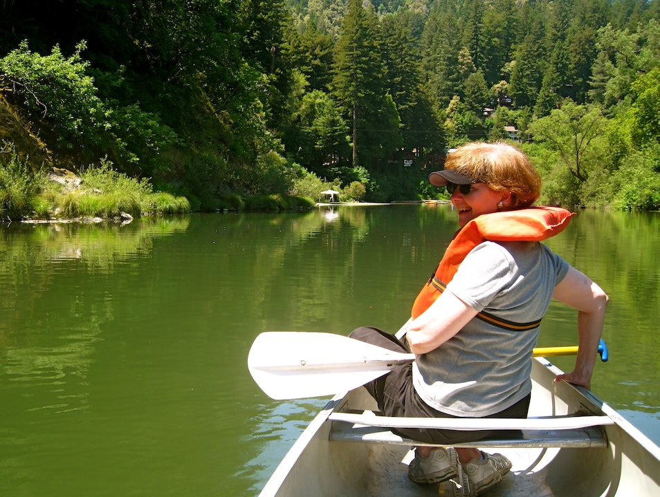 Russian River Canoe Trip Forestville California United States