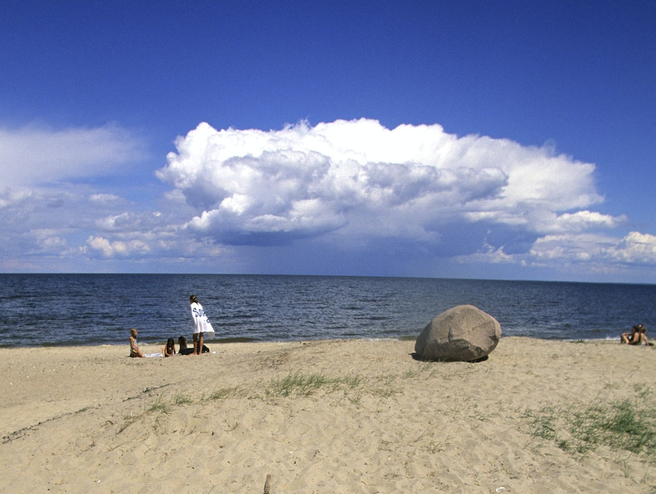Zippel Bay State Park  Minnesota United States