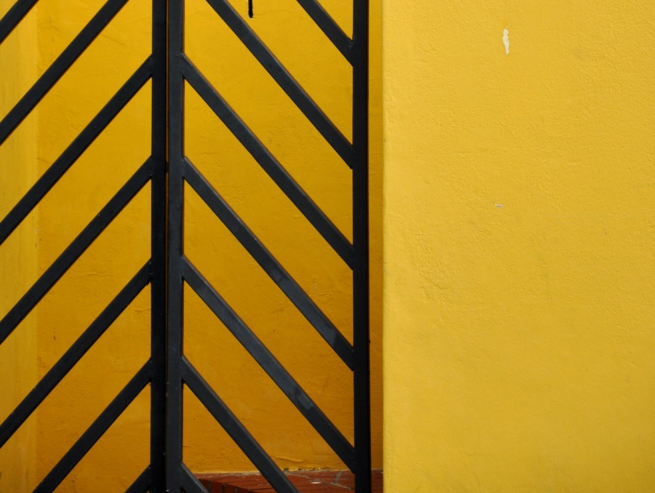 Abstracts and Colour 2 - Bo Kaap Cape Town  South Africa