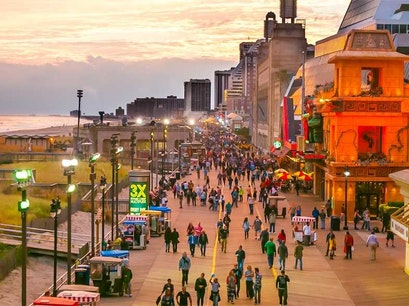 Boardwalk Atlantic City New Jersey United States