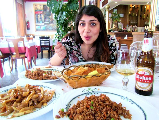 I fell in love with Chinese food... in Spain