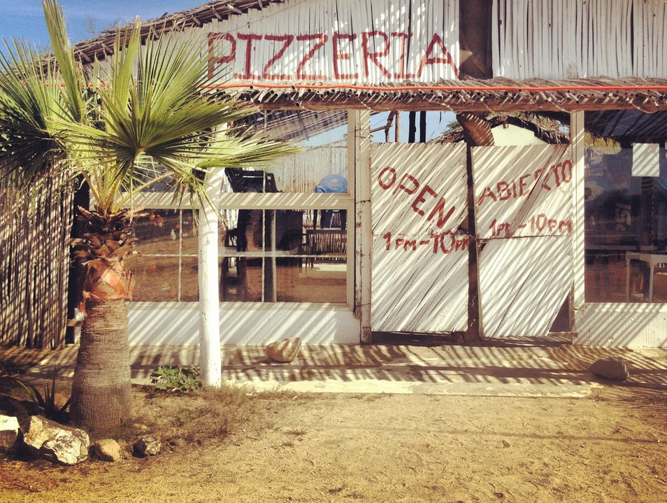 Best Pizza in Town.. All the local's knows it! Los Barriles  Mexico