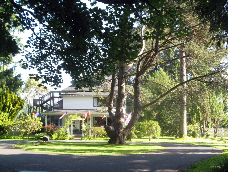 Forks B&B: Best Breakfast and View Forks Washington United States
