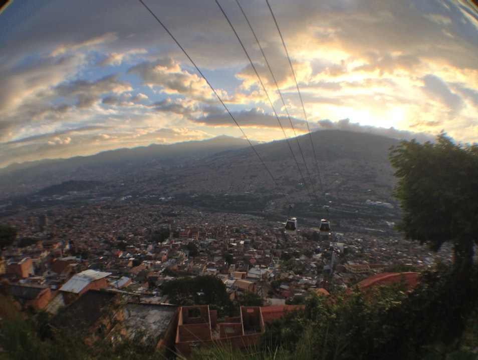 A Soaring View Over Medellin Medellin  Colombia