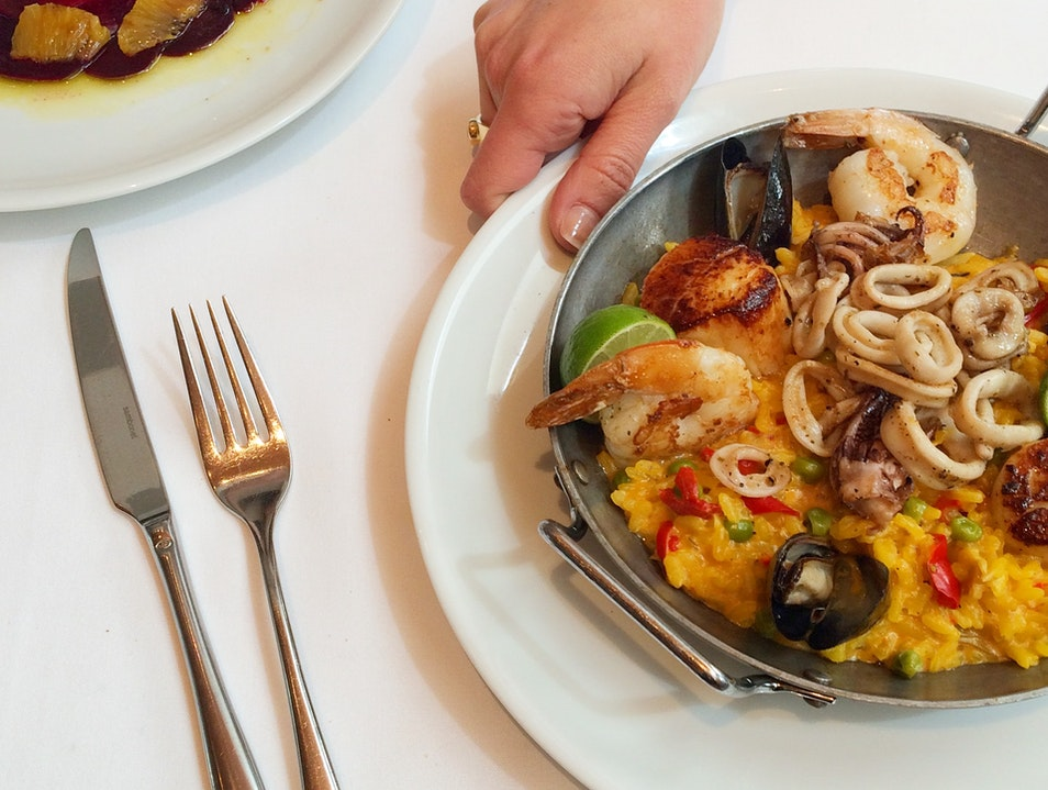 A Mediterranean State Of Mind At L.A.'s Fig And Olive
