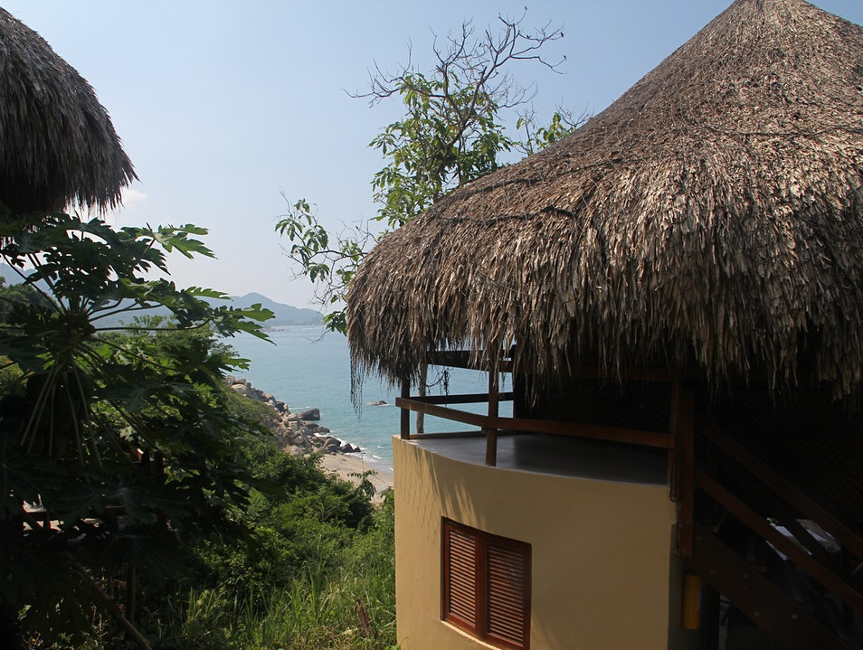 Staying in Eco-Luxury in Tayrona Park Colombia Santa Marta  Colombia
