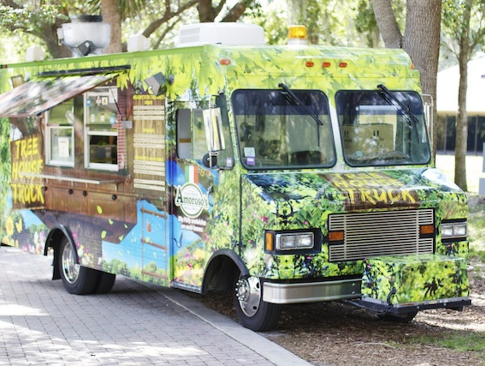 Gather for Food Truck Night at ArtsPark Hollywood Florida United States