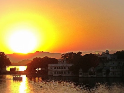 Lake Pichola Udaipur  India