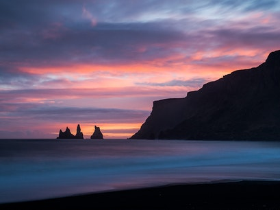 Reynisdrangar South  Iceland