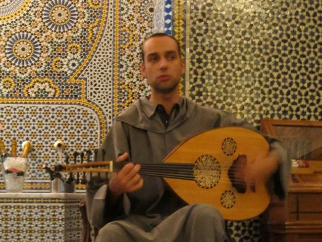 Oud music at La Maison Bleue