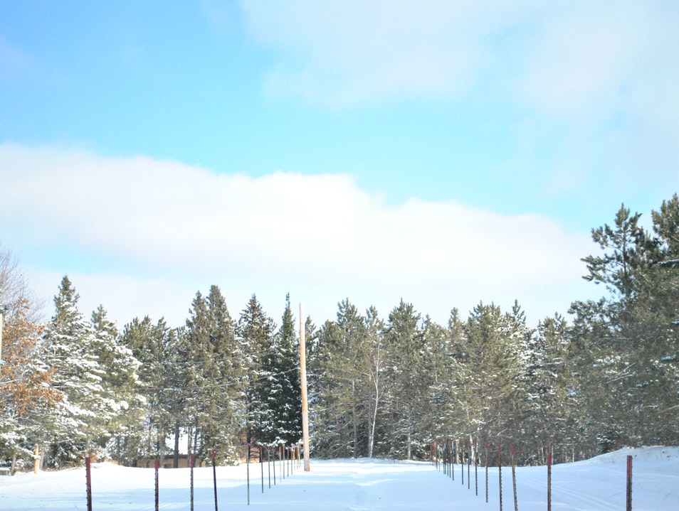 Snowshoeing the Nine Mile Forest in Wausau, Wisconsin Wausau Wisconsin United States