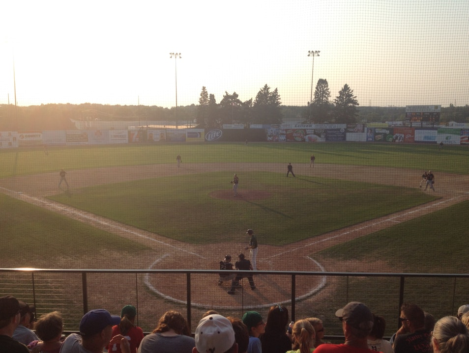 Root for the Wisconsin Woodchucks at Athletic Park Wausau Wisconsin United States