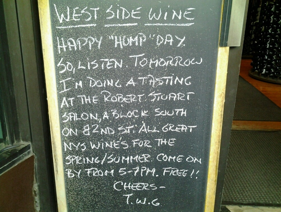 West Side Wine Bar