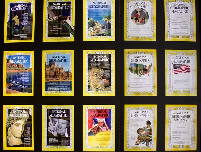 A Walk Through National Geographic's Past & Present