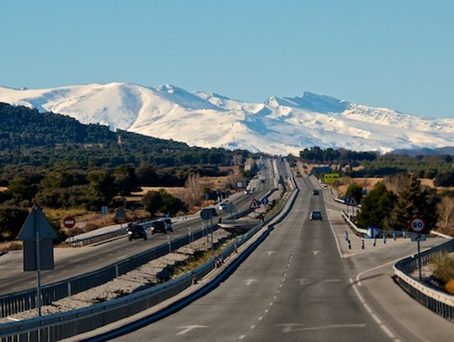 Spain - a drive from Altea to Sevilla