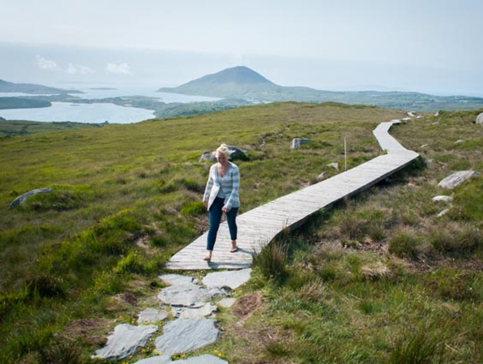 Hiking and Views in Connemara Letterfrack  Ireland