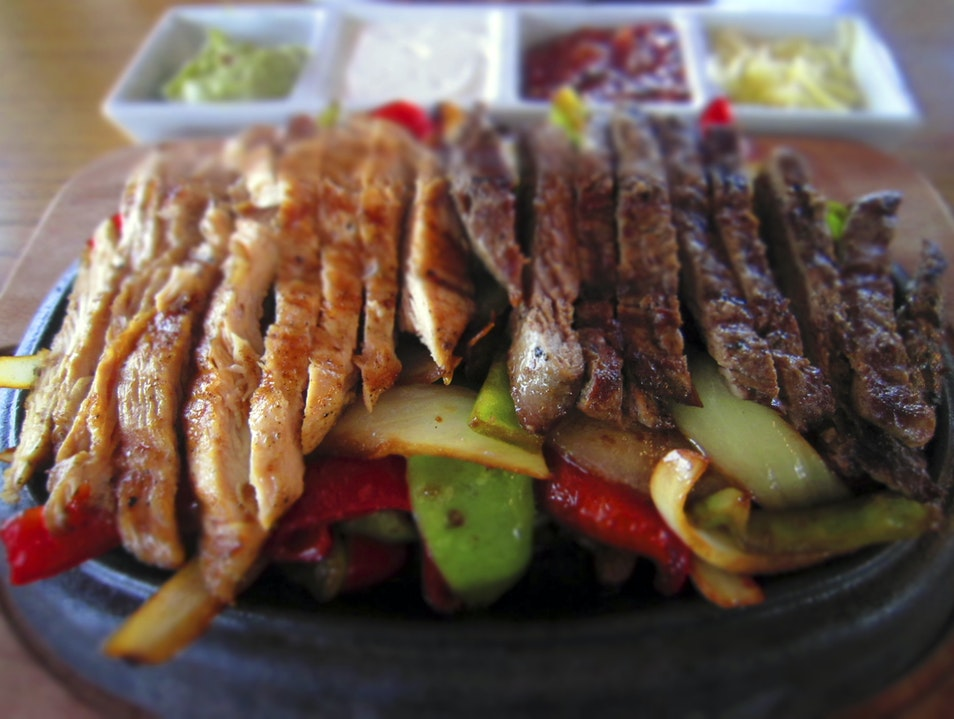 Fajitas in Turkey