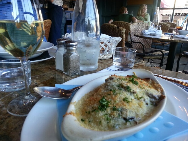 French country cuisine in Colonial Williamsburg