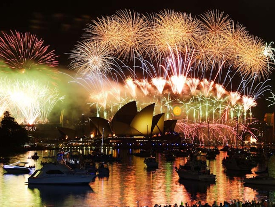 A New Year in Sydney Sydney  Australia