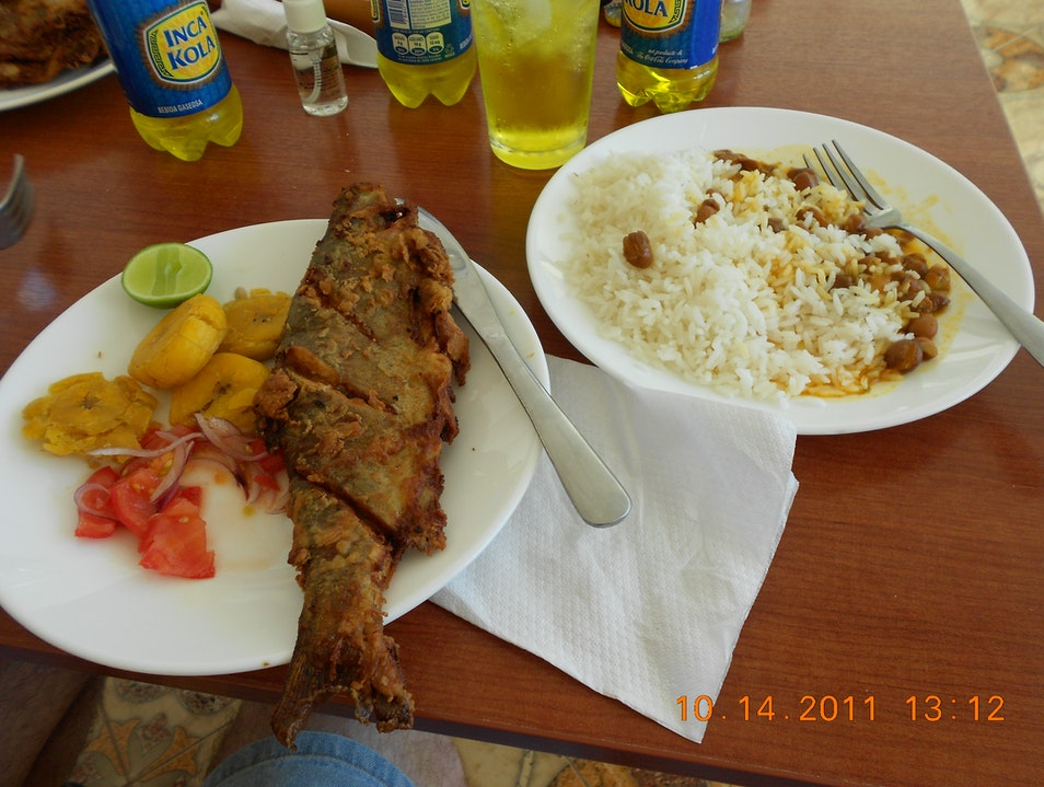 Excellent Budget Lunch Canar  Ecuador