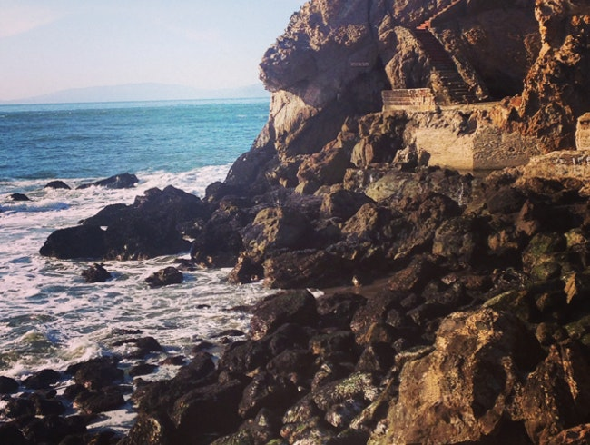 Step back in time at the Sutro Baths