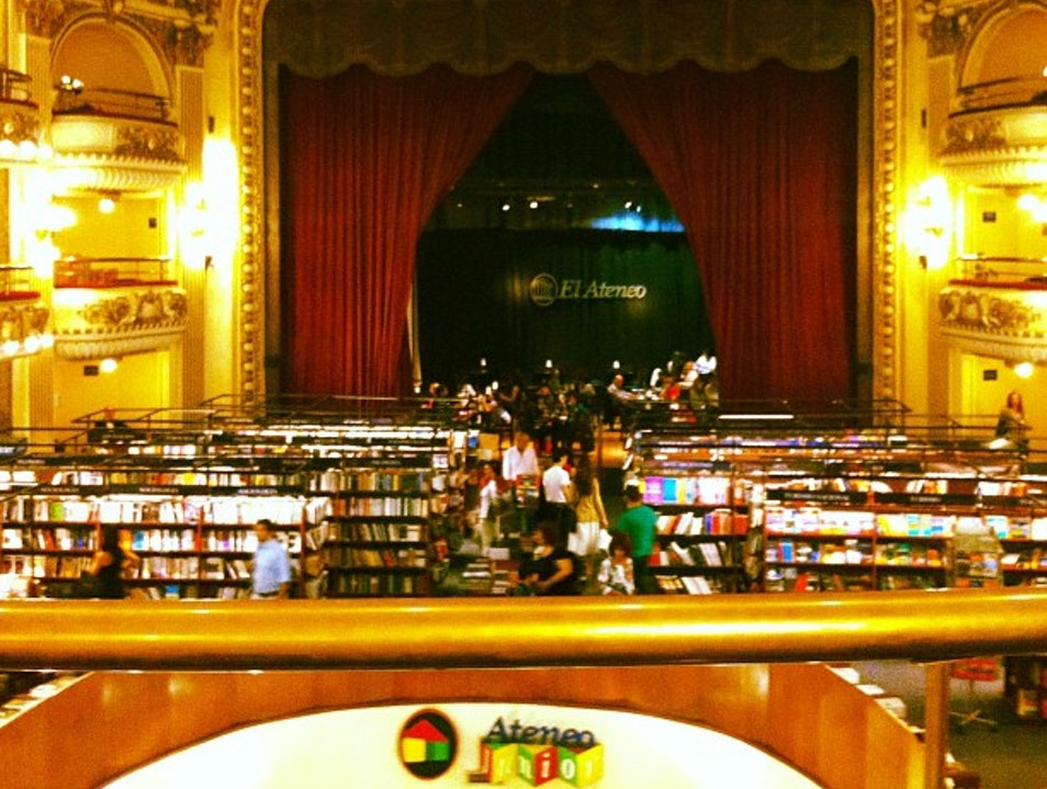A Theater Full of Books  Buenos Aires  Argentina