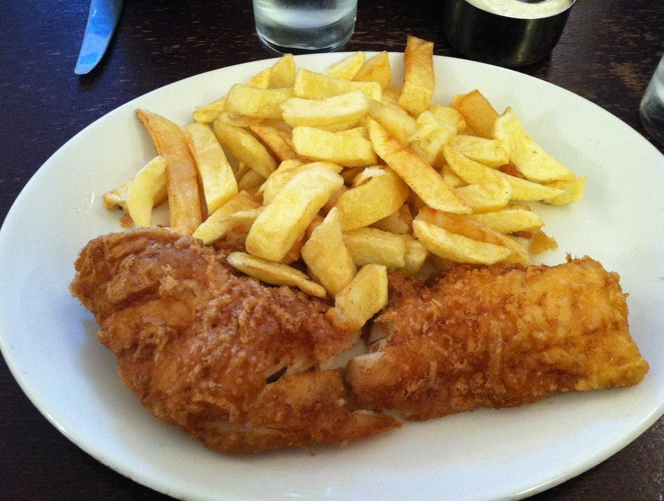 Best Fish and Chips in London London  United Kingdom