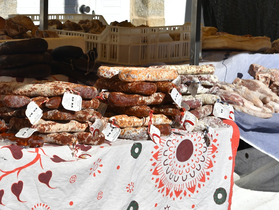 520-year-old Street Market in Galicia