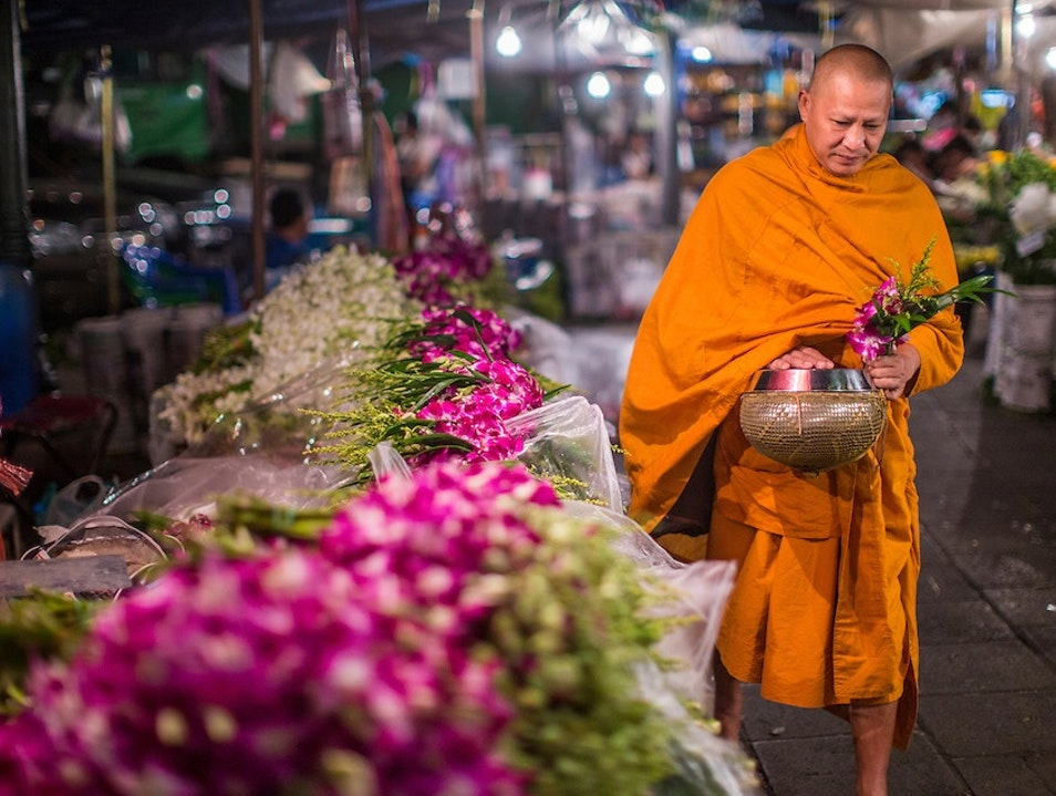 A Flower Market to Inspire the Senses Bangkok  Thailand
