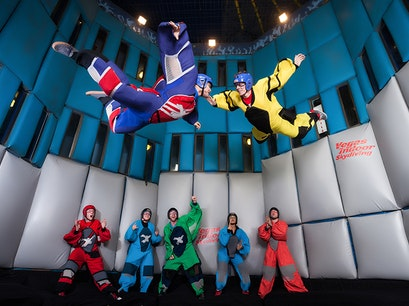 Vegas Indoor Skydiving Las Vegas Nevada United States