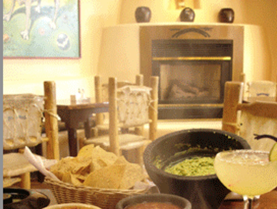 Stunning Setting for New Mexican Food Santa Fe New Mexico United States