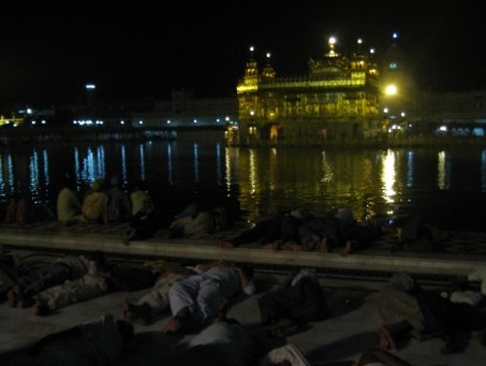 Golden Temple by Night Amritsar  India
