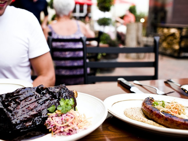 Modern Man Food at Butcher & The Boar