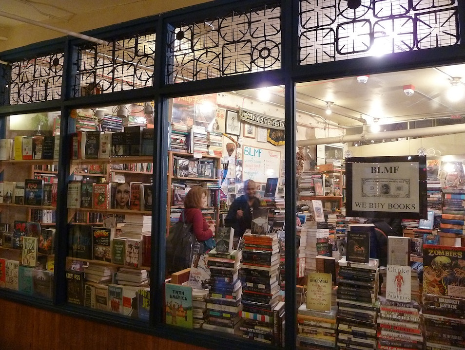 This Place Has Books Like a -- Well, You'll See