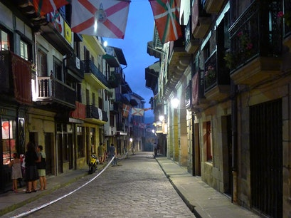 Old Town Hondarribia  Spain