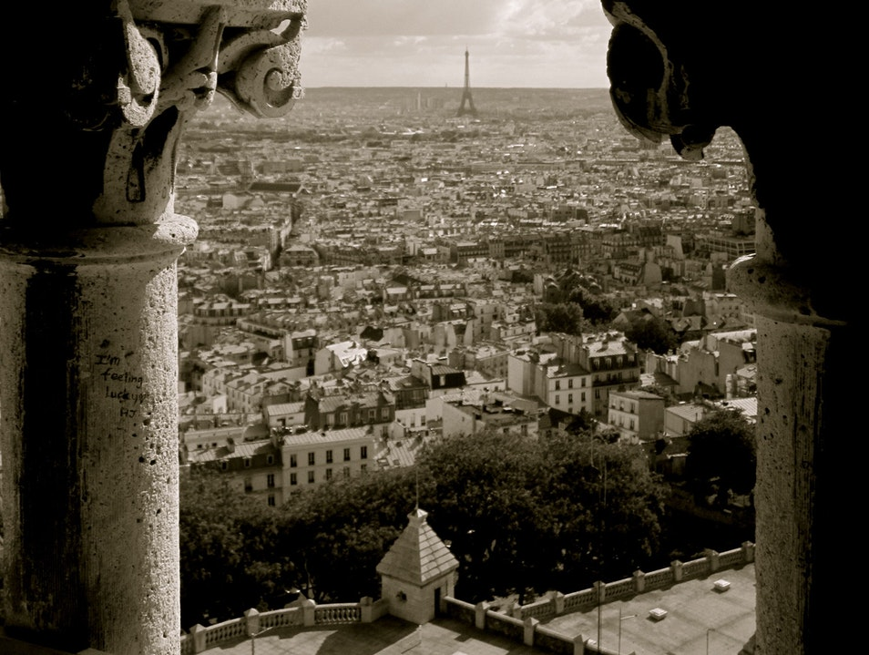 A Small Price to Pay to be On Top of The World Paris  France