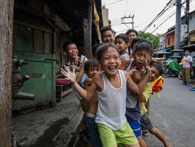 The Little Locals of Manila